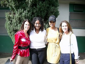 Image Of Michele Sherman, MFT, Tia Boyd, NAACP Treasurer, Carvena Harris, NAACP, Teen Coordinator, Melissa Sherman, Beyond Bullies, Executive Director
